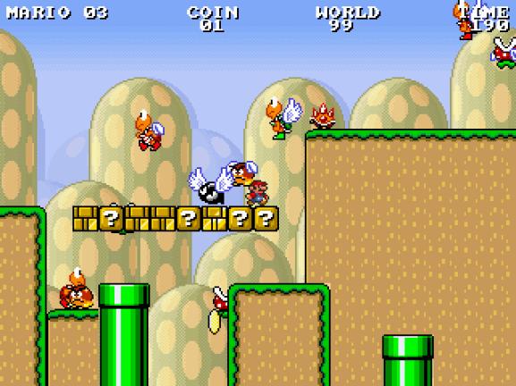 Image Infinite Mario