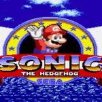 Sonic In Mario