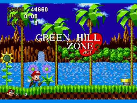 Image Sonic In Mario