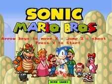 Image Sonic Mario Bros