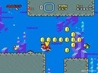 Image Super Mario World (Genesis)